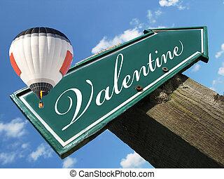 バレンタイン, 道 印