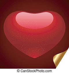 バレンタイン, heart.