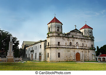 バロック式, 古い, church., フィリピン人