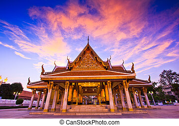 バンコク, タイ, ワット, 寺院