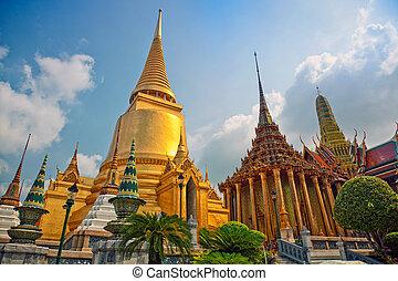 バンコク, 寺院