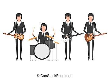 バンド, トピック, beatles
