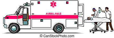バン, 救急車