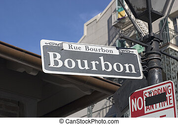 バーボン、通り