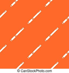 パイプ, パターン, ベクトル, オレンジ