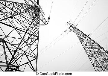 パイロン, 電気