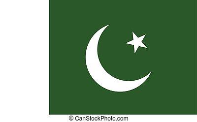 パキスタンの旗, イメージ