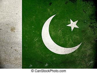 パキスタンの旗, グランジ