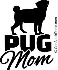 パグ, お母さん
