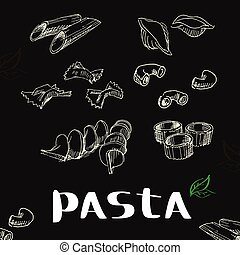 パスタ, イタリア語