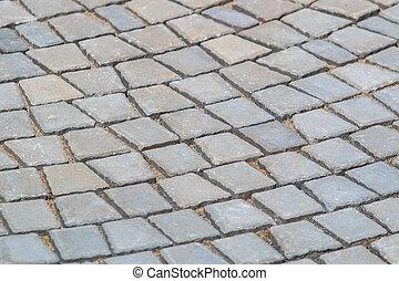 パターン装飾された, 舗装, タイル, セメント, れんがの床, 背景