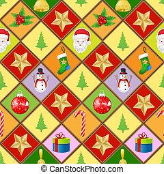 パターン, ∥で∥, クリスマス, 要素