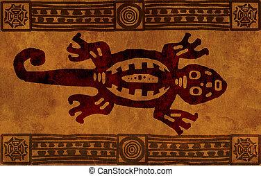 パターン, アメリカインディアン, 国民