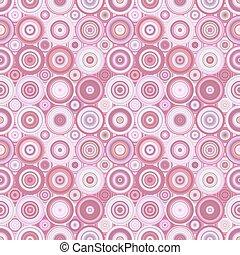 パターン, -, イラスト, ベクトル, 背景, 幾何学的, 円