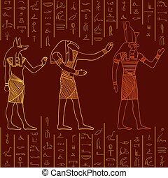 パターン, エジプト人, 神