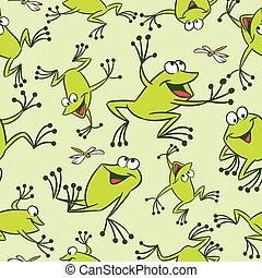 パターン, カエル, 面白い