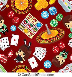 パターン, カジノ, seamless