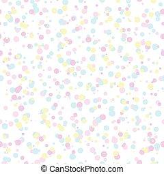 パターン, カラフルである, 泡