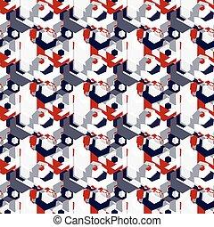 パターン, カラフルである, 背景, 抽象的