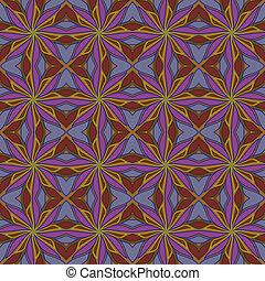 パターン, カラフルである, seamless, -, abstrac