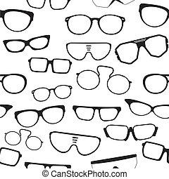 パターン, ガラス, seamless
