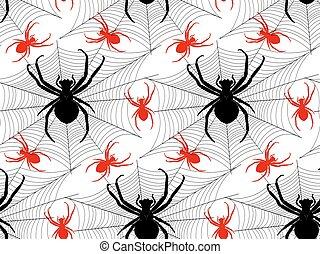 パターン, クモ