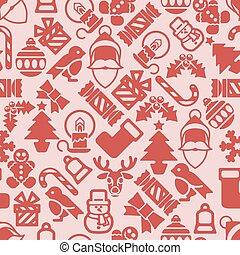 パターン, クリスマス, 背景