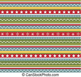 パターン, クリスマス, seamless, 手ざわり