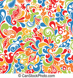 パターン, スクロール, 幸せ