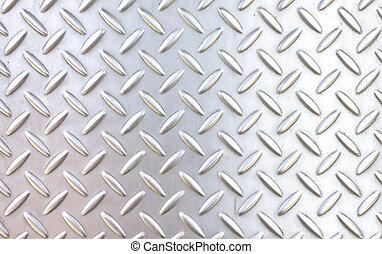 パターン, スタイル, の, 鋼鉄, 床
