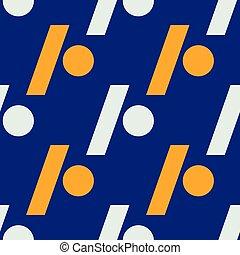 パターン, スラッシュ, 点, seamless