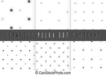 パターン, セット, ポルカドット