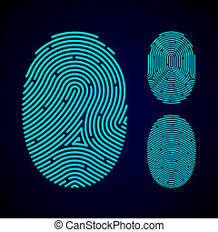 パターン, タイプ, 指紋