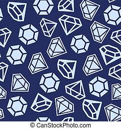 パターン, ダイヤモンド, seamless
