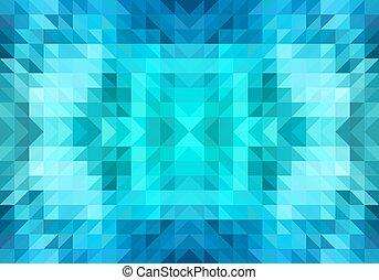 パターン, ベクトル, 三角形, seamless