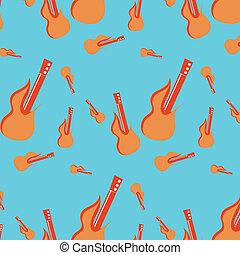 パターン, ベクトル, 音楽, seamless