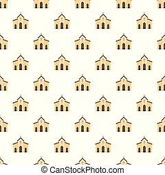 パターン, ベクトル, seamless, チャペル