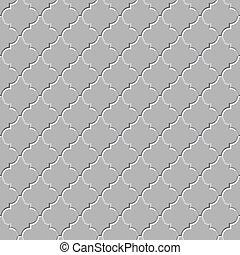 パターン, ベクトル, -, seamless, 床