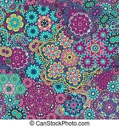 パターン, ペイズリー織