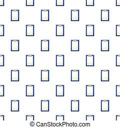 パターン, ペーパー, クリップボード, ブランク