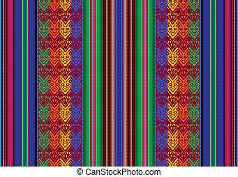 パターン, ボリビア, seamless