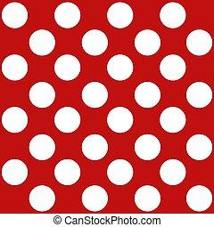 パターン, ポルカ, seamless, 点, レトロ