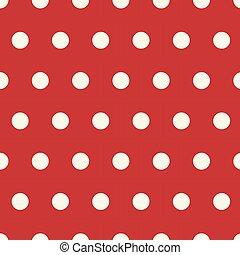 パターン, ポルカ, seamless, 点, 背景