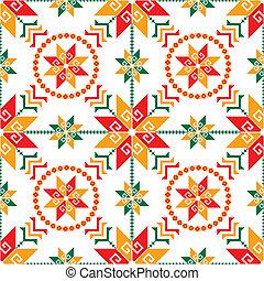 パターン, メキシコ人, seamless