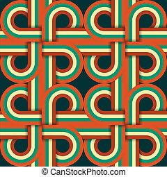 パターン, リボン, seamless, 織り交ぜられる