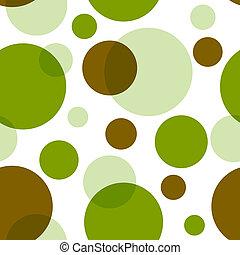 パターン, レトロ, (vector), seamless
