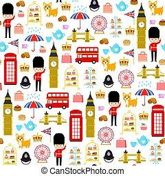 パターン, ロンドン, seamless