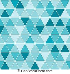 パターン, 三角形, 冬