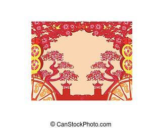 パターン, 中国語, 風景