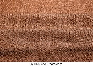 パターン, 井戸, 手ざわり, burlap., 目に見える, 編まれる, threads.